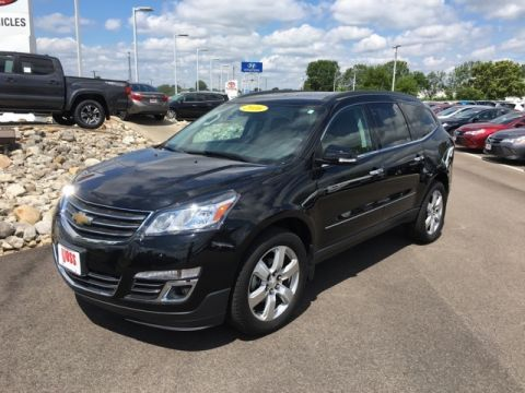 Pre-Owned 2016 Chevrolet Traverse LTZ 4D Sport Utility AWD