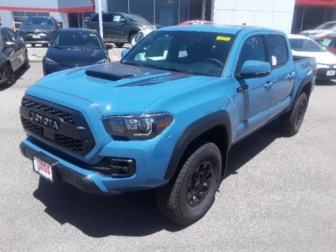 New 2018 Toyota Tacoma TRD Pro 4D Double Cab 4WD
