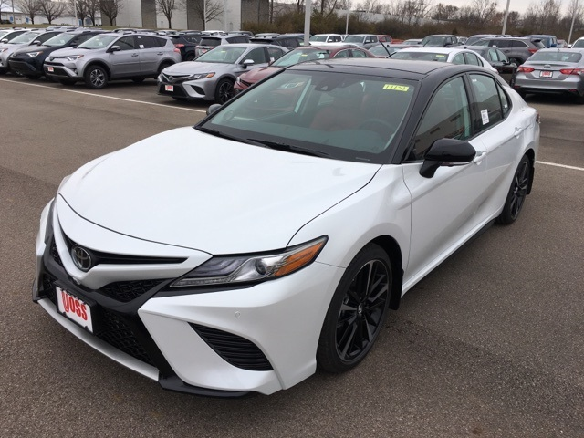 New 2019 Toyota Camry Black Xse V6 4d Sedan For 36 273 In Beavercreek