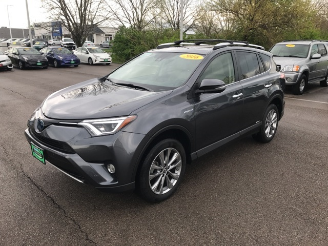 Certified Pre-Owned 2016 Toyota RAV4 Hybrid LTD