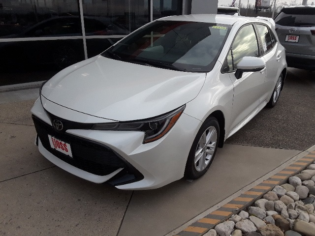 New 2019 Toyota Corolla Hatchback White Se 5d Hatchback For 20 991